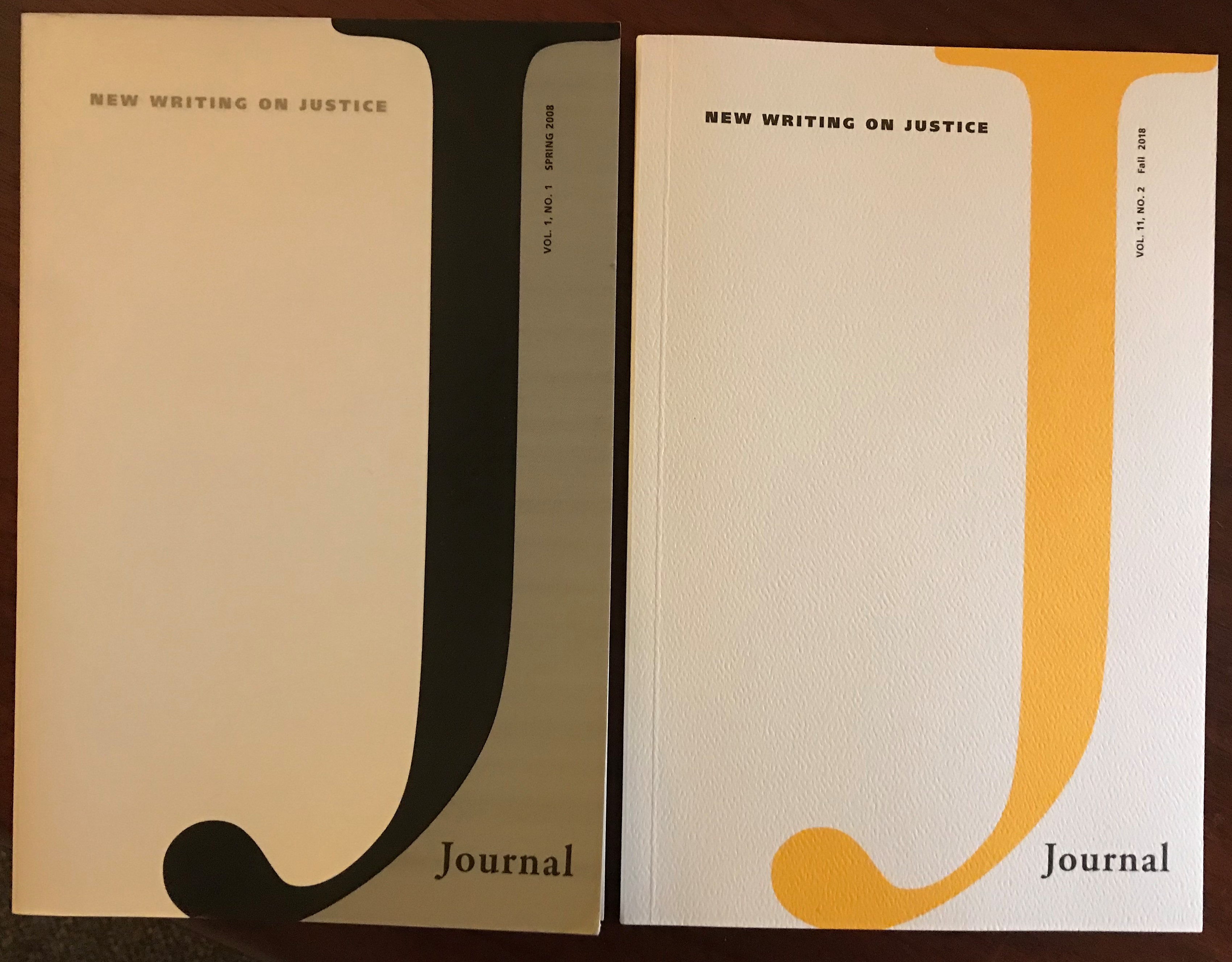 Cover art J Journal, issues 1 and 23