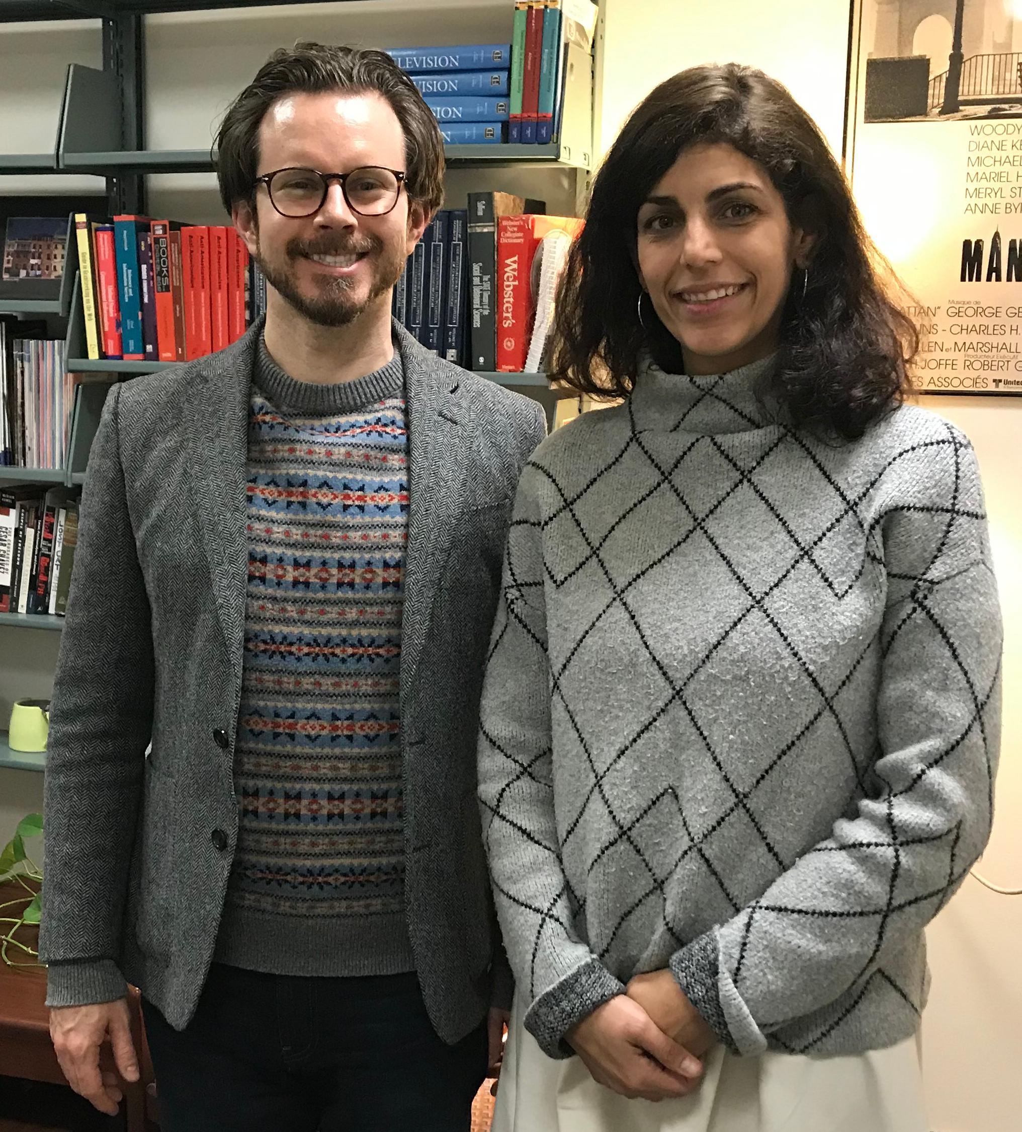 Bret Maney and Cristina Pérez Jimenez
