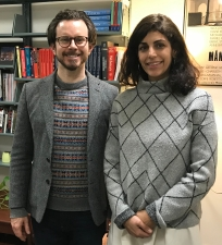 Bret Maney and Cristina Pérez Jimenez